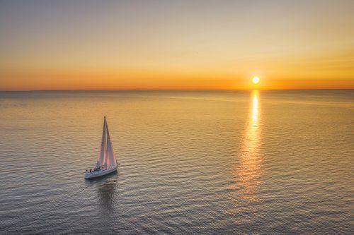 Sailing Towards Sunset