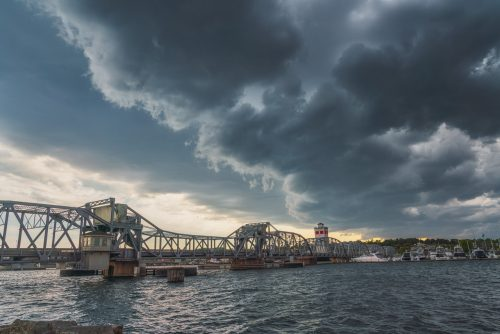 Storm Passing Over