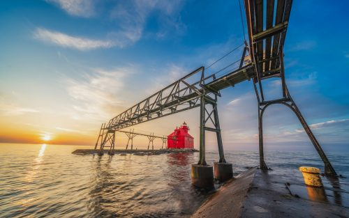Big Red and the Pier