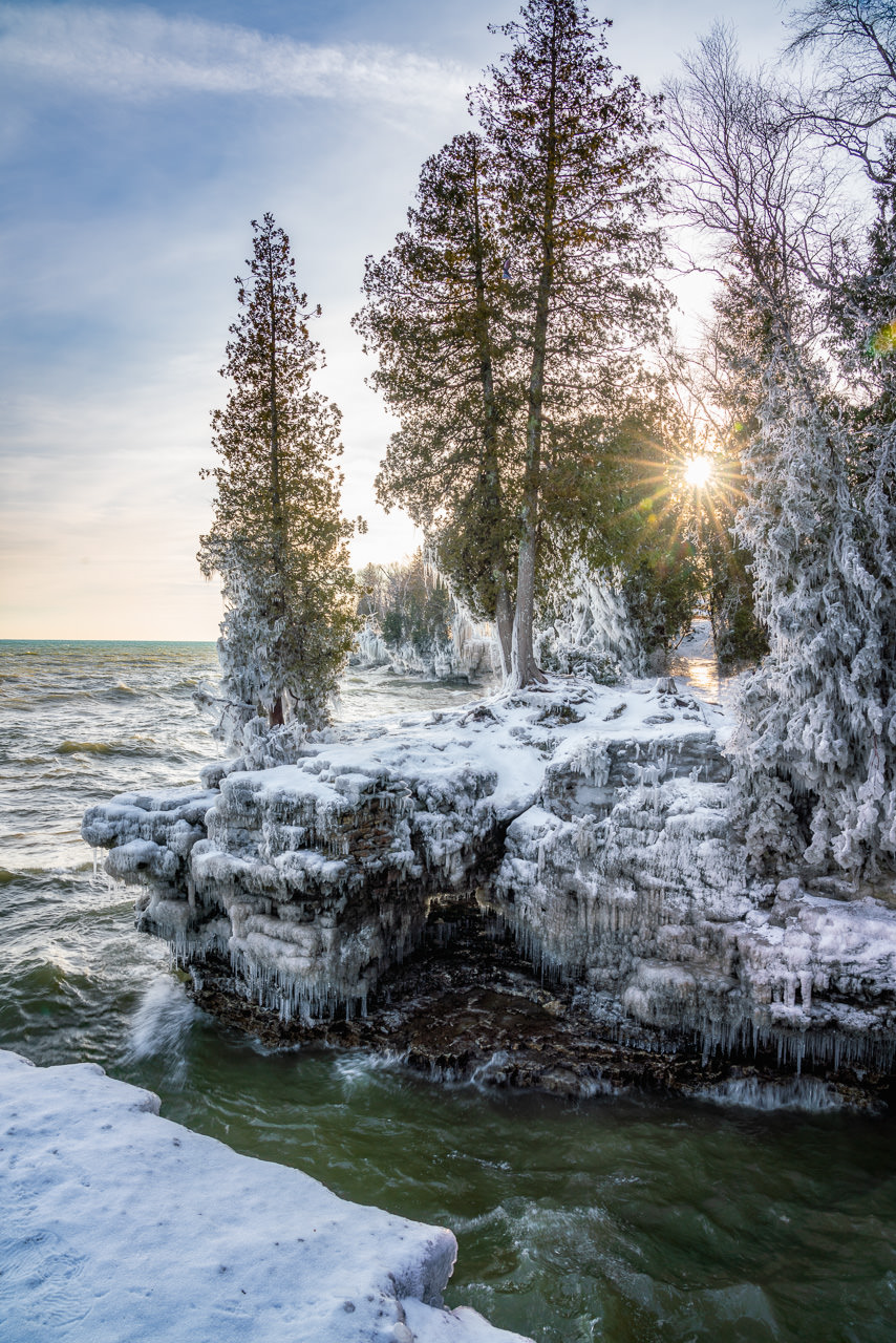 Icy Sunburst