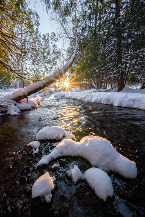Sunset by Big Creek
