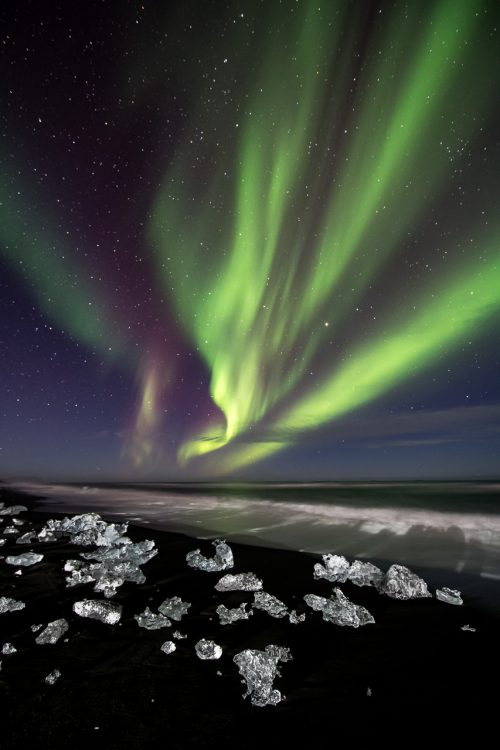 Auroras and Diamonds