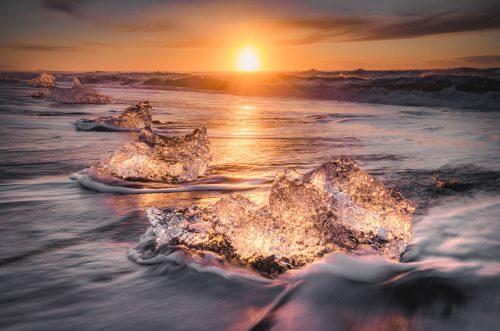 Icy Sunrise