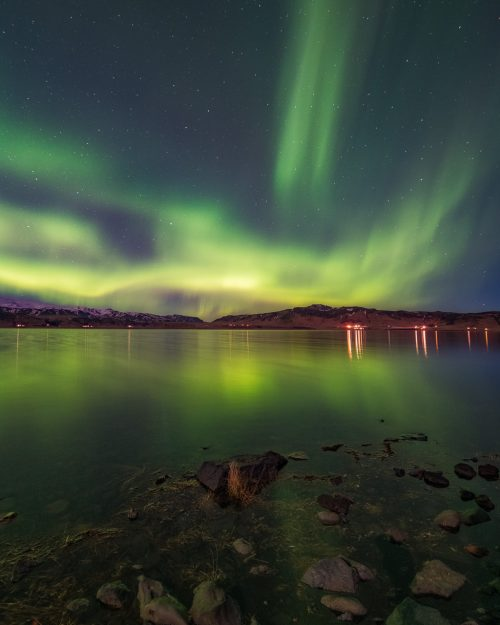 Auroras over the Lake