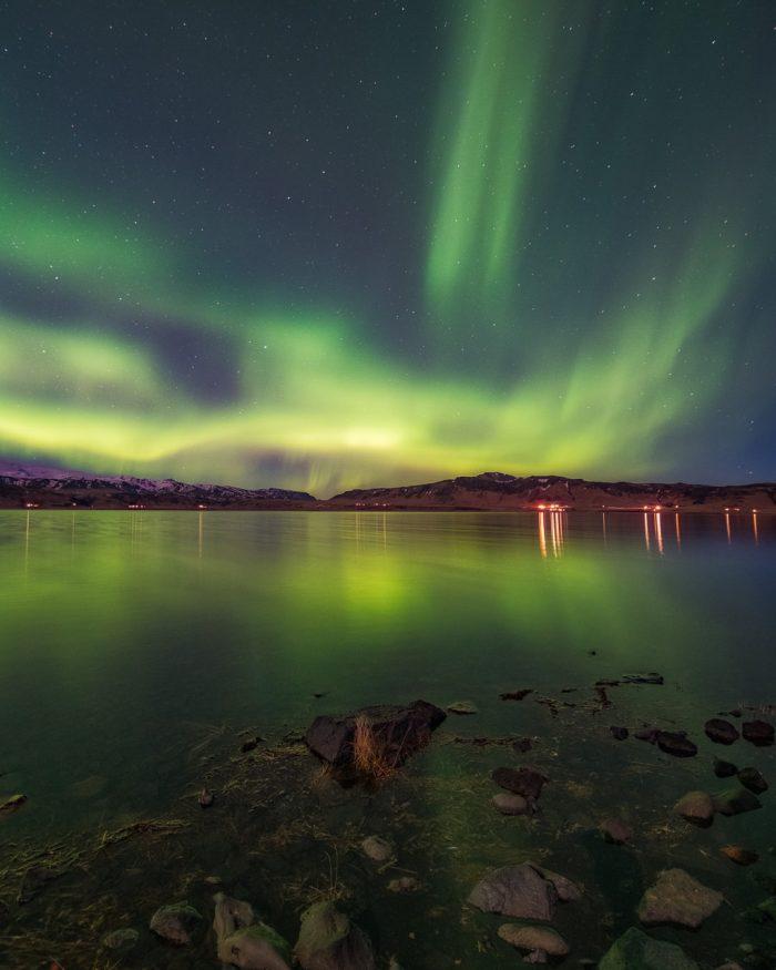 Auroras over the Lake