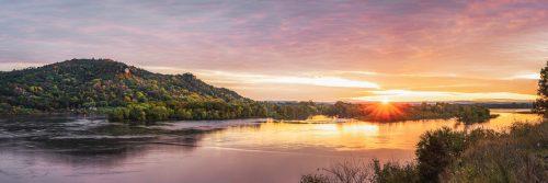 Mississippi River Sunrise