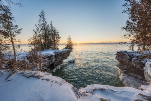 Winter on Lake Michigan