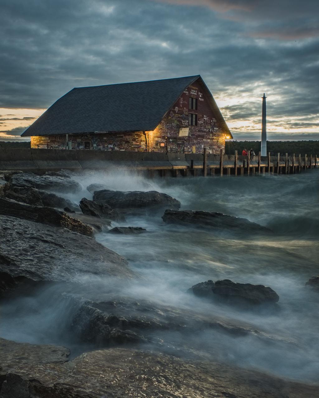 Anderson Dock Storm