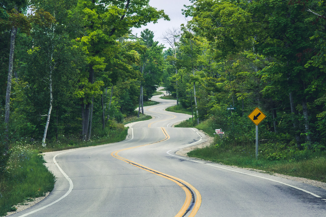 Down the Winding Road