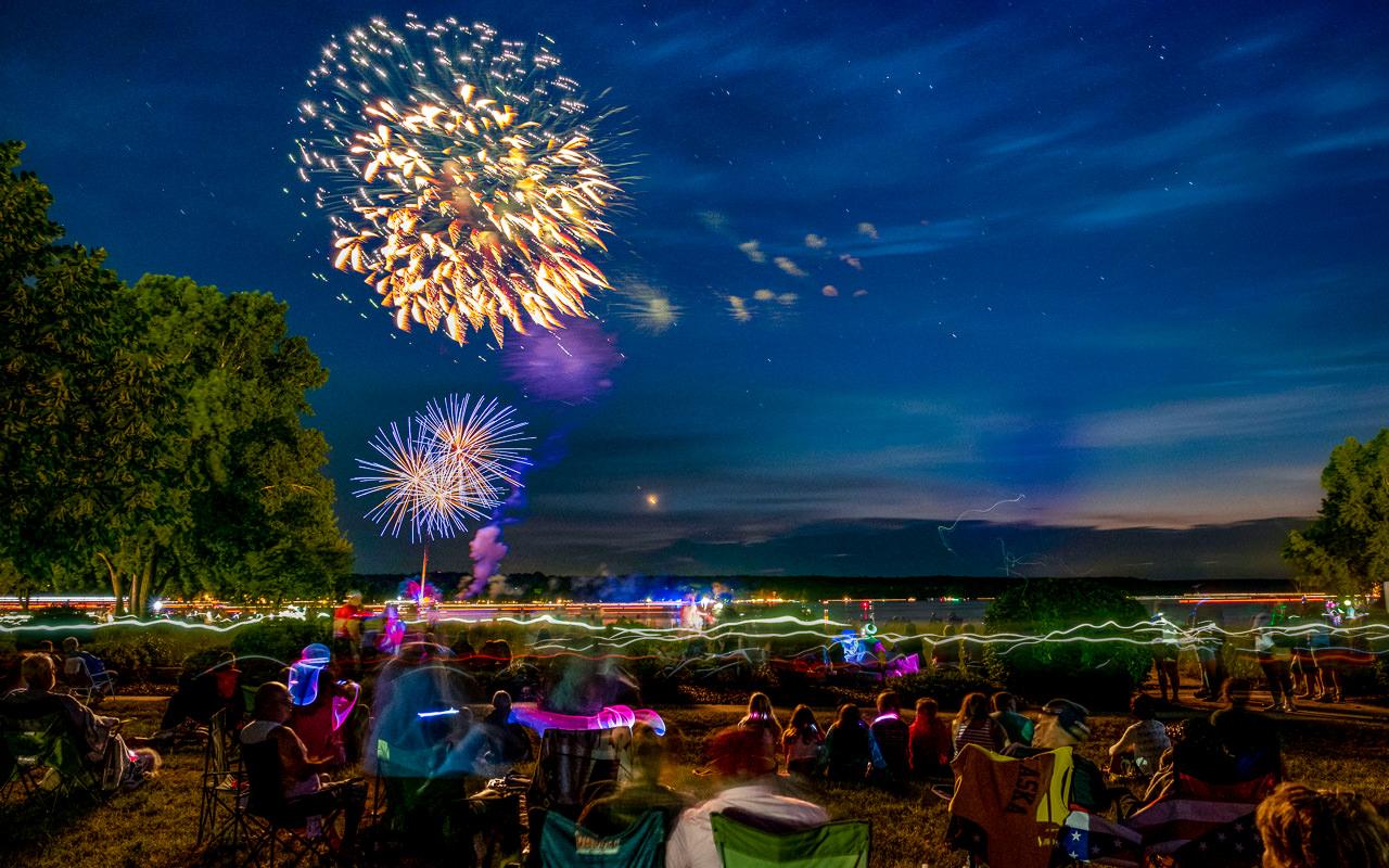 Fireworks over the Park