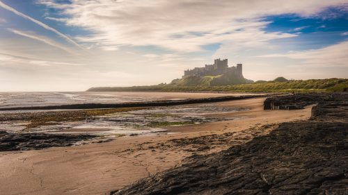 Beach of Bamburgh