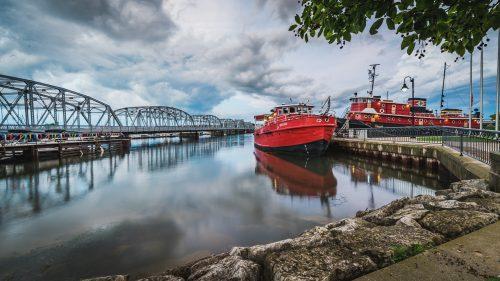 Docked By The Bridge
