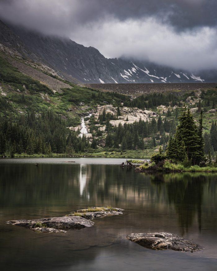 Cloudy Mountain Morning