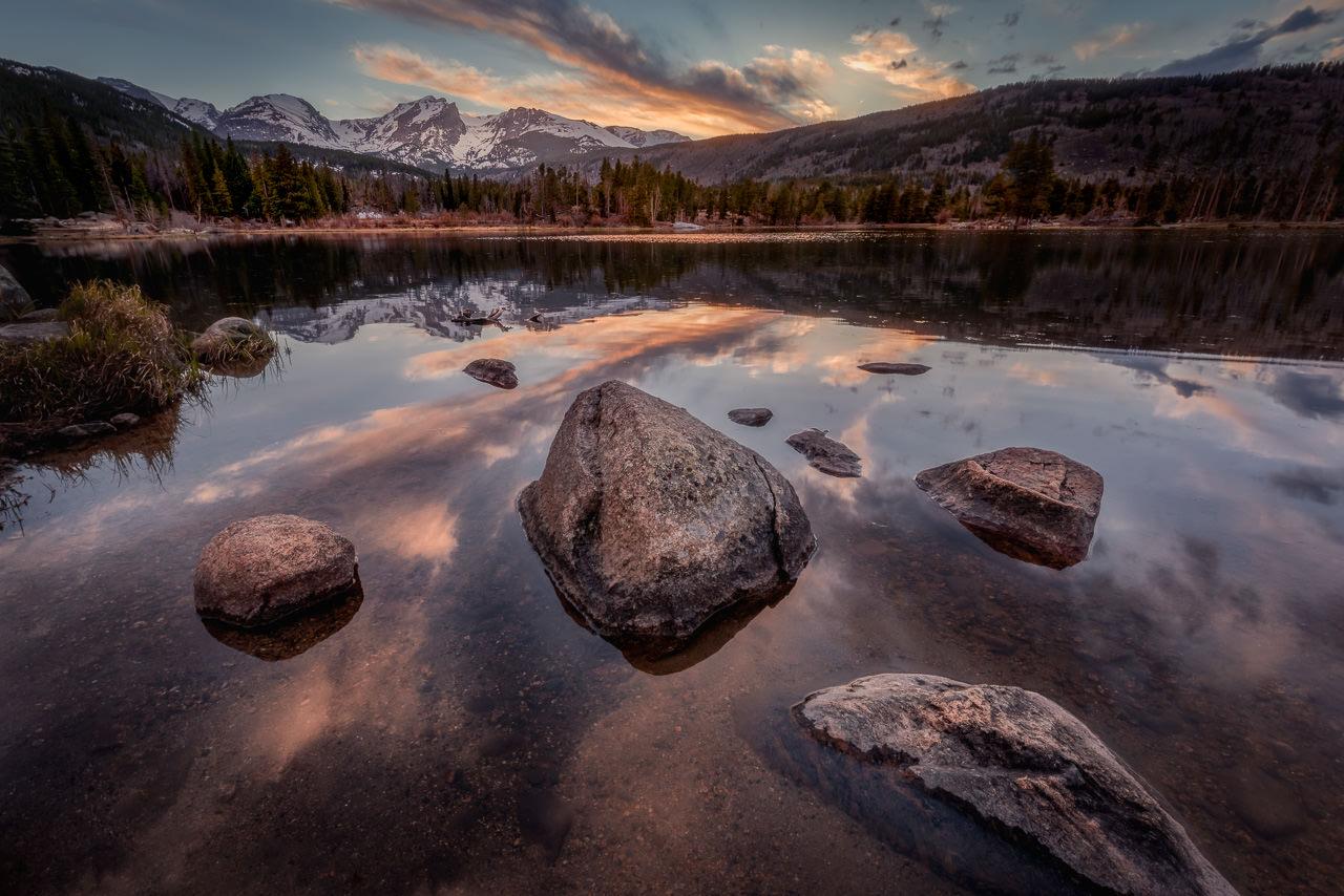 Sprague Lake Sunset