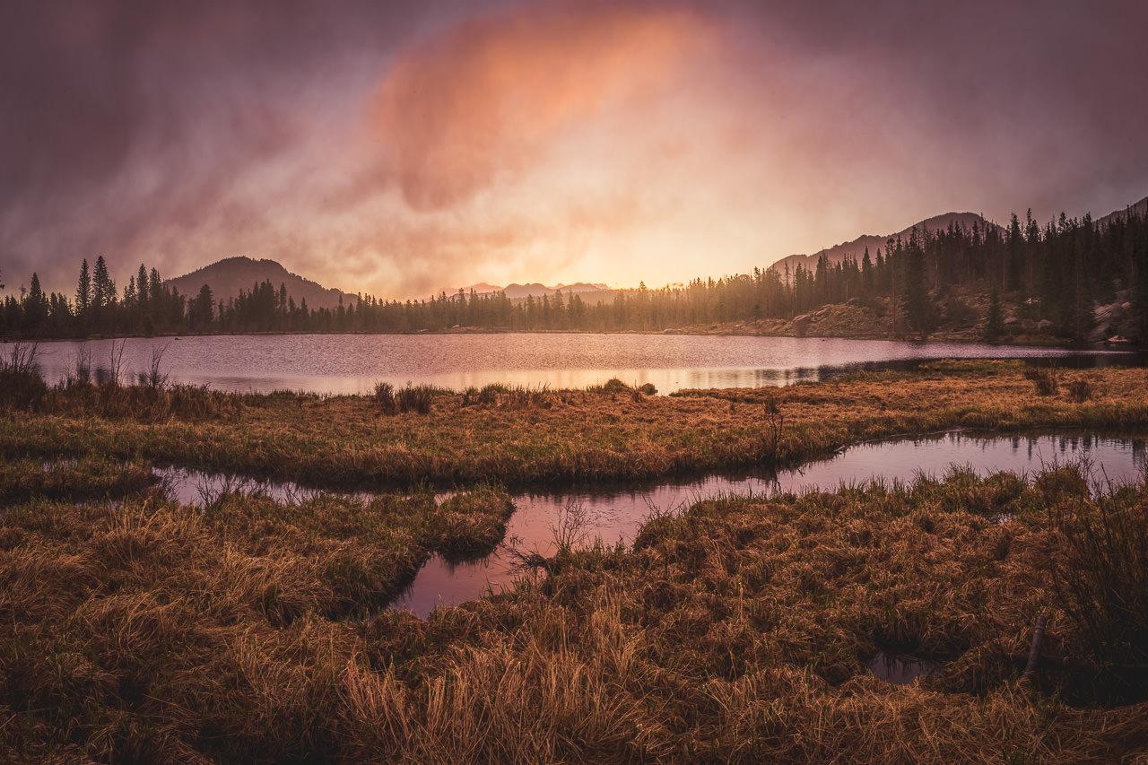 Rocky Mountain Sunrise