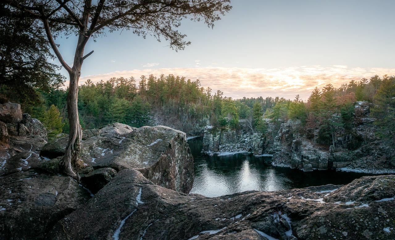 River's Edge Sunset