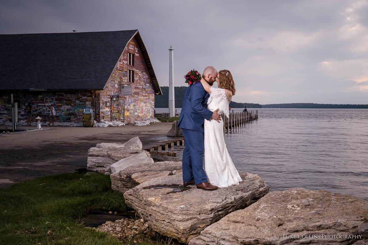 door county wedding, wedding photographer, door county, wisconsin, sister bay, ephraim