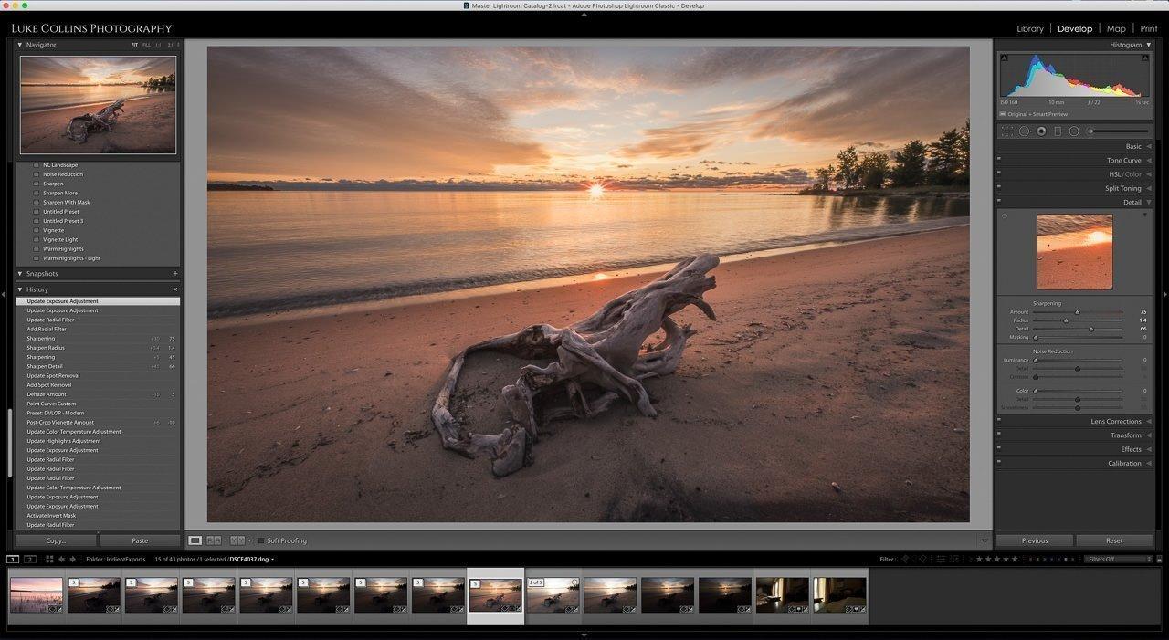 fujifilm, x-t3 raw files, iridient, lightroom
