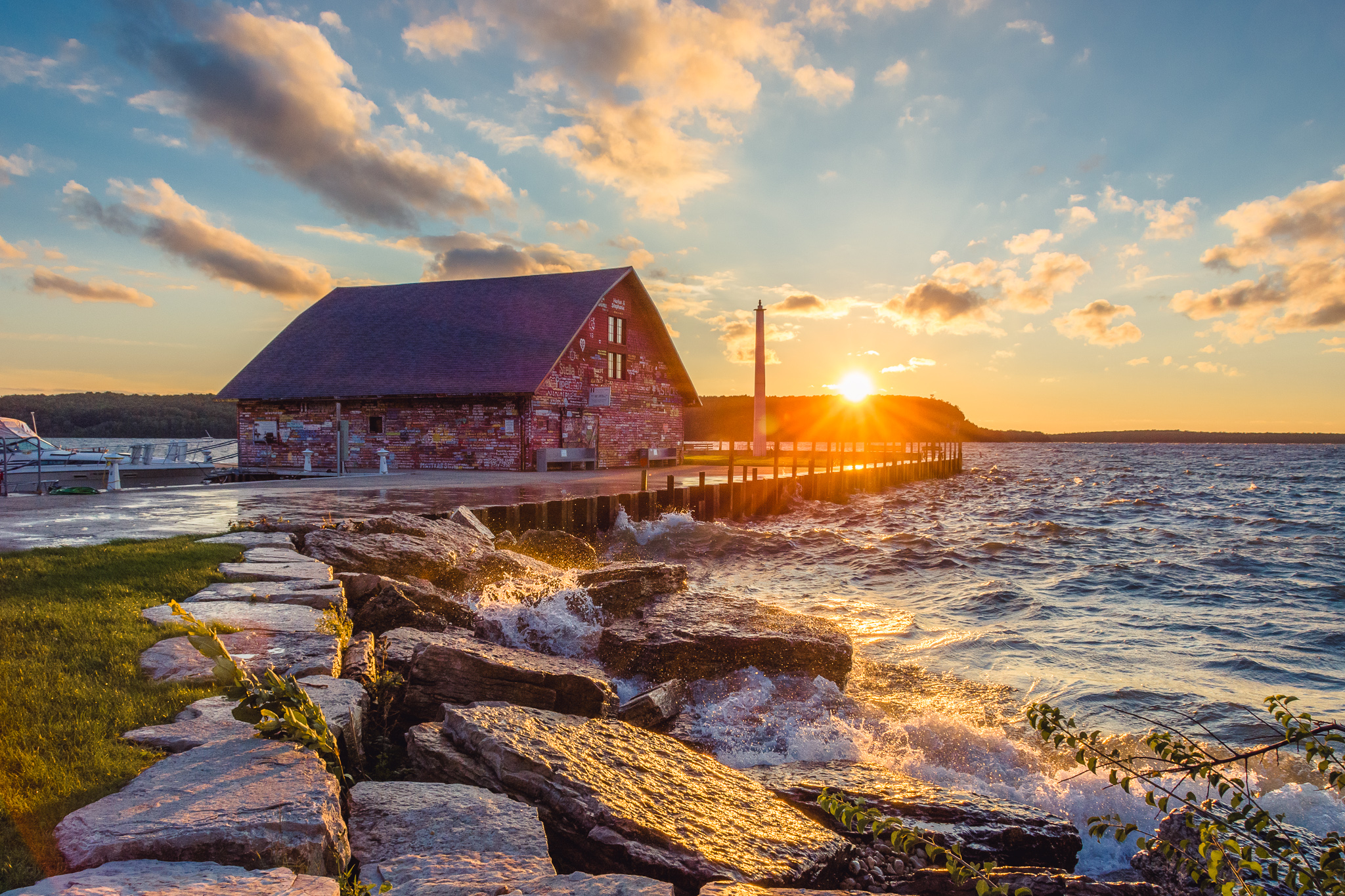 anderson dock, ephraim, door county, wisconsin